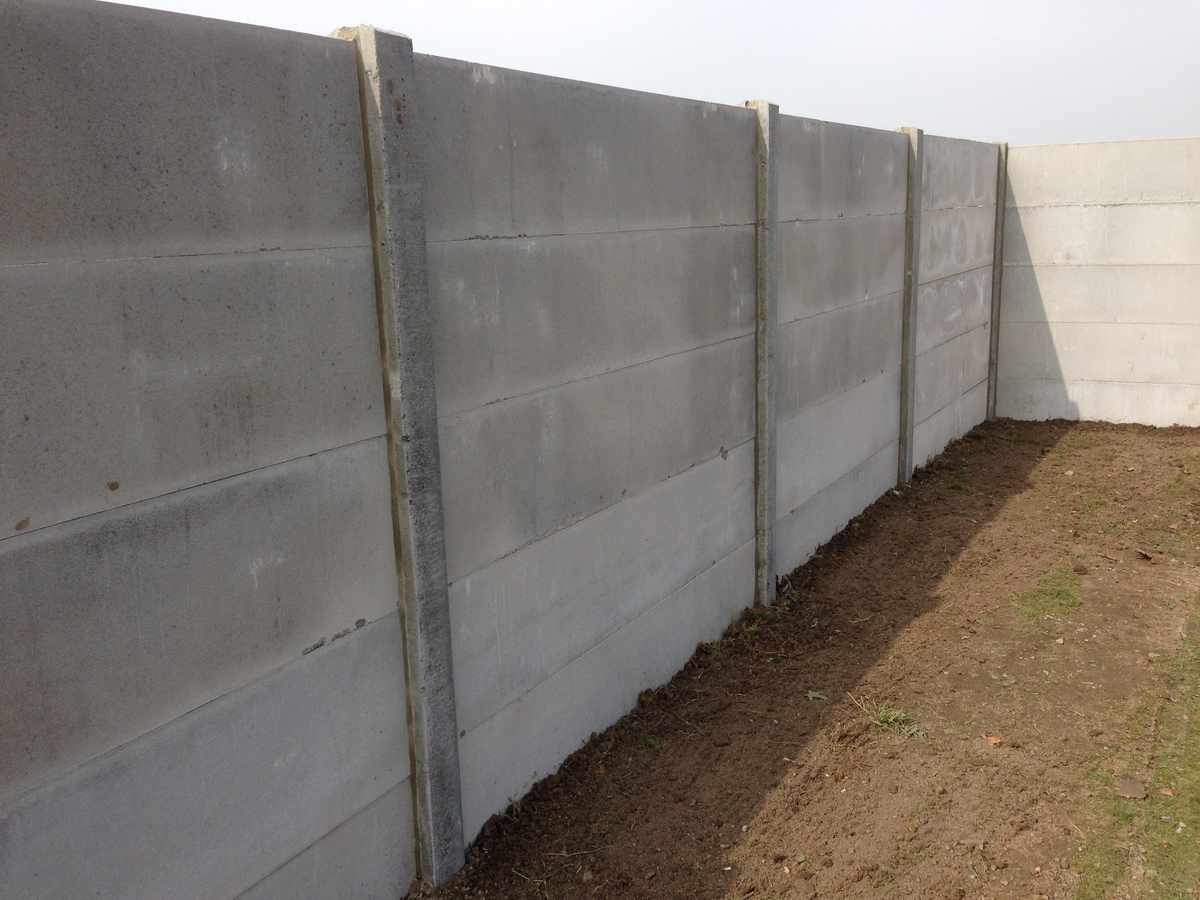 Cloture En Plaque De Beton Prix dedans plaques de clôture - vanhessche